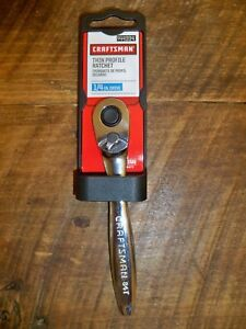 New Craftsman 944994 Ratchet Quick Release Thin Profile 1 4 Drive Chrome 44994