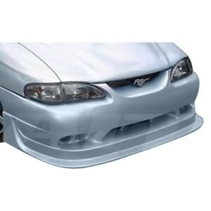 For Ford Mustang 94 98 Cobra R Style Fiberglass Front Bumper Cover Unpainted