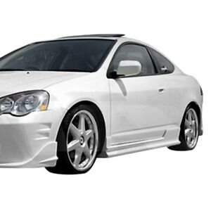 For Acura Rsx 2002 2006 Ait Racing Bcn 2 Style Fiberglass Side Skirts Unpainted