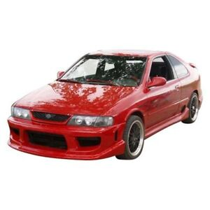 For Nissan 200sx 95 98 Ait Racing Drift Style Fiberglass Side Skirts Unpainted