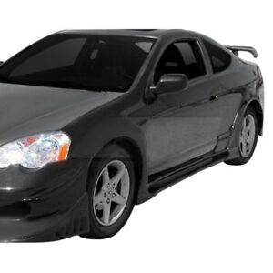 For Acura Rsx 2002 2006 Ait Racing Vs Style Fiberglass Side Skirts Unpainted