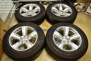 20 Dodge Ram Sport Oem Factory Polished Wheels Tires Hemi 1500 Dakota 2015 2014