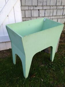 Primitive Dry Sink Green Paint Cute