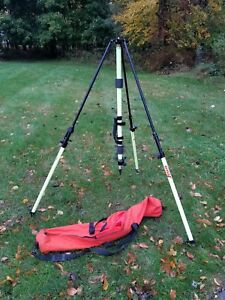 Seco Lecia Graduated Collapsible Gps Antenna Tripod Flo Yellow 5119 00 fly l