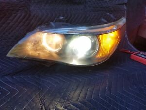 05 06 07 Bmw 525i 530i 545i Left Dynamic Xenon Hid Headlight read First