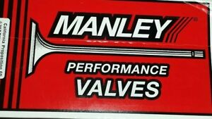 Manley Sbc Chevy 2 080 Stainless Severe Duty Intake Valves 5 340 X 3415 11764 8