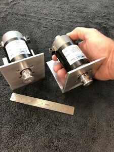 Cleveland Machine Controls Dc Motor Small Lathe Jewelers 2 Pulleys 24v Max