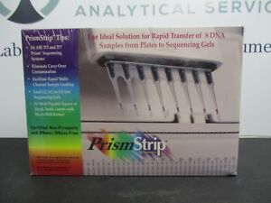 Prismstrip Tips For Dna Transfer From Plate To Gel