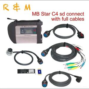 Mb Star C4 Sd Connect Wifi Diagnostic Multiplexer With For Cars And Trucks
