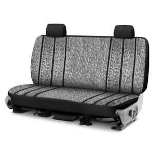 For Toyota Pickup 89 95 Saddle Blanket 1st Row Black Custom Seat Covers