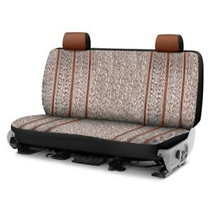 For Toyota Pickup 89 95 Saddle Blanket 1st Row Brown Custom Seat Covers