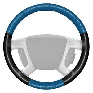 For Honda Accord 13 18 Steering Wheel Cover Europerf Perforated Sea Blue
