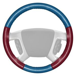 For Chevy Corvette 16 Steering Wheel Cover Eurotone Two color Sea Blue Steering