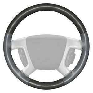 For Chevy Corvette 16 Steering Wheel Cover Eurotone Two color Charcoal Steering