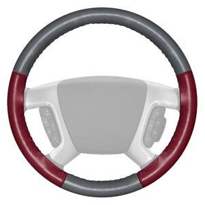 For Chevy Corvette 16 Steering Wheel Cover Eurotone Two color Gray Steering