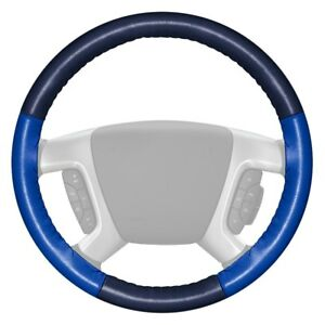 For Chevy Corvette 16 Steering Wheel Cover Eurotone Two color Blue Steering