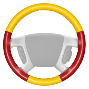 For Chevy Camaro 16 Steering Wheel Cover Eurotone Two color Yellow Steering