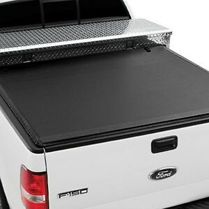For Chevy Silverado 1500 14 18 Express Tool Box Tonno Roll Up Tonneau Cover