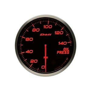 Defi Df10204 Advance Bf 60mm Oil Pressure Gauge 0 To 145 Psi