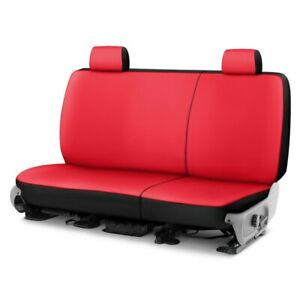 For Ford Escape 13 18 Saddleman Neoprene 2nd Row Red Black Custom Seat Covers