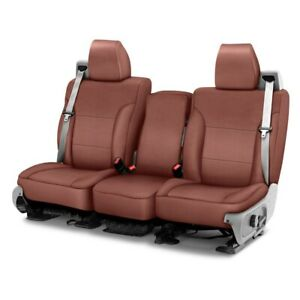 For Toyota Tundra 07 13 Saddleman Leatherette 1st Row Brown Custom Seat Covers