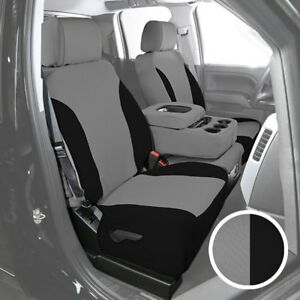 For Toyota Pickup 89 95 Neosupreme 1st Row Gray W Black Custom Seat Covers