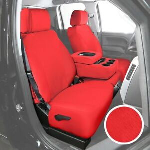 For Toyota Pickup 89 95 Saddleman Neosupreme 1st Row Red Custom Seat Covers