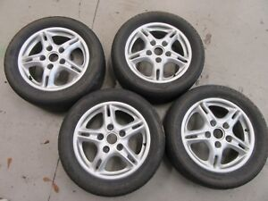 Porche 996 986 Booster 914 6 914 911 Wheel Set Nice Used Condition 99636211400