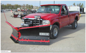 Hiniker 8 5 Flared Wing V Snow Plow Poly Trip Edge Complete V Plow