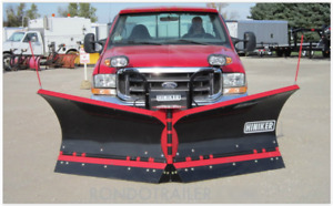 Hiniker 9 5 V Plow Flared Wing Poly Trip Edge Best Reliable Snow Plow 9395