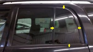 2003 Chevy Geo Tracker Driver Lh Rear Vent Privacy Tint Glass Window 4 Door