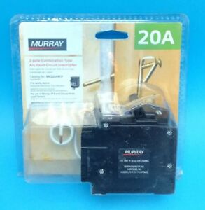 New Circuit Breaker Murray Mp220afc 20 Amp 2 Pole 120 240v Combination Afci