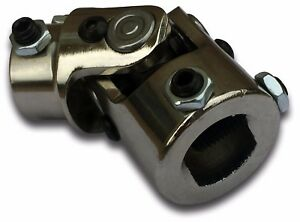 1 Inch Dd 3 4 Dd Chrome Steering Universal Joint U Joint Chrome New