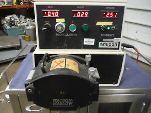Watson marlow 701s r Peristaltic Pump With Amicon Pump Controller