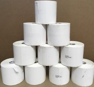 Zebra Z select 4000t Thermal Label 4 x6 475 roll 10 pack 800274 605 vgc