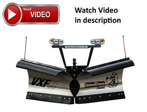 Snow Plow V Plow Snowdogg Vxf95ii Trip Edge Stainless Versatile Reliable Str0ng