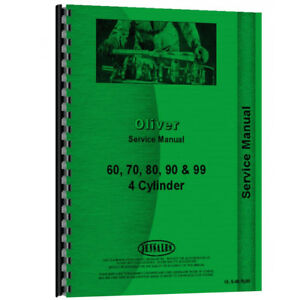 Oliver 70 Tractor Service Manual