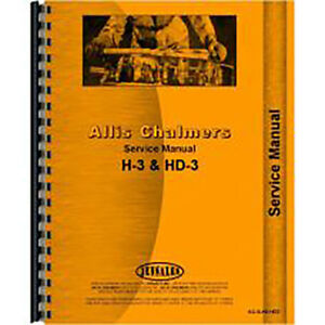 Service Manual For Allis Chalmers Hd3 Crawler diesel