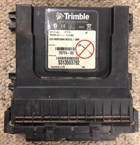 Trimble Field Iq Seed Monitor Module P n 76774 05