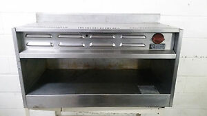 Wolf Range Natural Gas Cheese Melter Cmj36 29 No Rack Tested 36