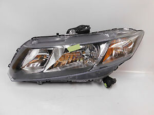06 2007 2008 2009 2010 2011 Honda Civic Sedan Left Driver Halogen Headlight Oem