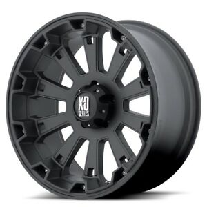 17 Inch Black Wheel Rims Chevy Gmc Truck Tahoe 5 Lug Jeep Wrangler Jk Xd Series