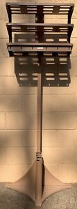 Vintage Mcm Vogel Office Valet Metal Industrial Coat Rack W shelves Steampunk