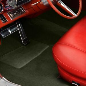 For Ford Fairlane 62 64 Sewn to contour Replacement Carpet Sewn to contour Olive
