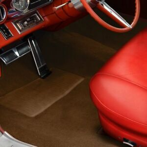 For Chevy Truck 55 58 Sewn to contour Replacement Carpet Sewn to contour Saddle