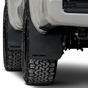 For Toyota Tacoma 2016 2019 Rek Gen T2001 Rally Edition Mud Flaps W Black Logo
