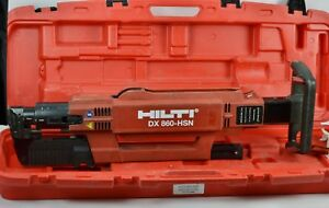 Hilti Dx860 hsn Powder Actuated Ramset Tool Metal Decking Roofing Nail Tested