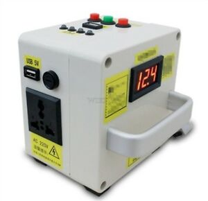 220v New Small Hand Crank Generator Portable Power Supply Emergency Charger Oc
