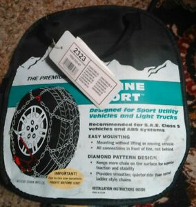 Laclede 2323 Diamond style Lt Truck Suv Tire Snow Chains
