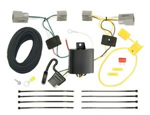 Trailer Wiring Harness Kit For 10 19 Ford Mustang All Styles Plug Play T one